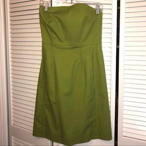 Vince Strapless Dress w/ Pockets sz 6